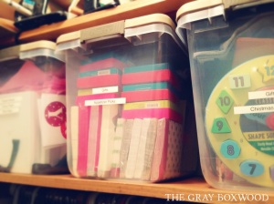 Organized boxes